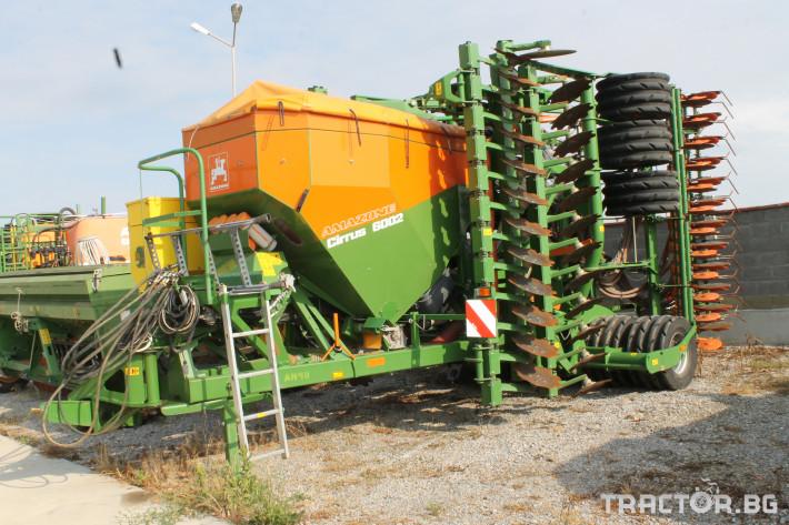 Сеялки Прикачна сеялка за директна сеитба  на слята повърхност марка AMAZONE модел Cirrus 6002 0 - Трактор БГ