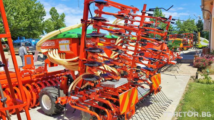 Сеялки Gaspardo Пневматична сеялка PINTA 500 1 - Трактор БГ