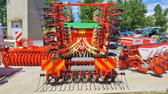 Сеялки Gaspardo Пневматична сеялка PINTA 500 2 - Трактор БГ