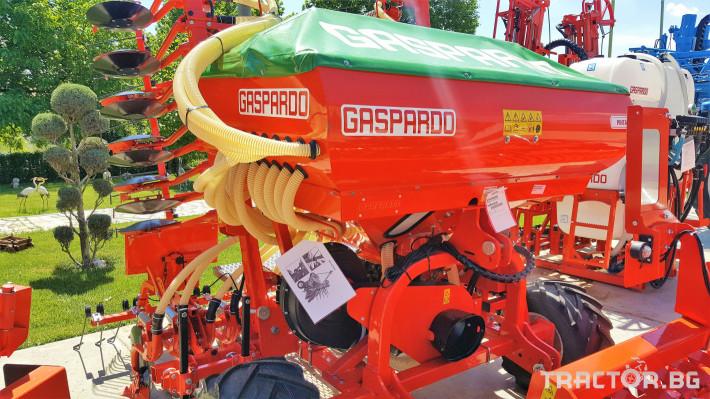 Сеялки Gaspardo Пневматична сеялка PINTA 500 8 - Трактор БГ
