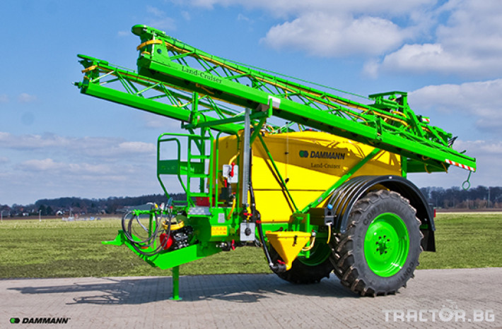 Пръскачки Прикачна пръскачка марка Dammanm модел Land-Cruiser 3000l-24m 2 - Трактор БГ