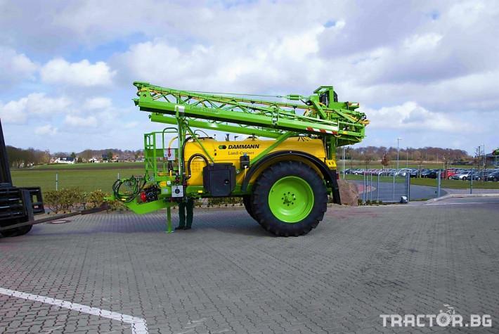Пръскачки Прикачна пръскачка марка Dammanm модел Land-Cruiser 3000l-24m 0 - Трактор БГ