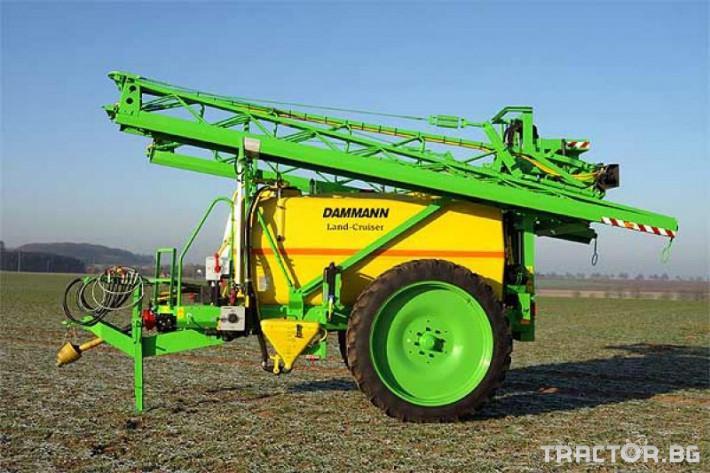 Пръскачки Прикачна пръскачка марка Dammanm модел Land-Cruiser 3000l-24m 5 - Трактор БГ
