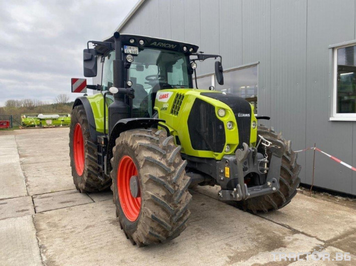 Трактори Claas Arion 660 Cmatic Cebis ❗❗❗2021❗❗❗250 часа 9 - Трактор БГ