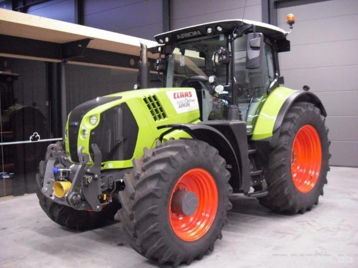 Трактори Claas Arion 660 Cmatic Cebis 2018❗❗❗ 0 - Трактор БГ