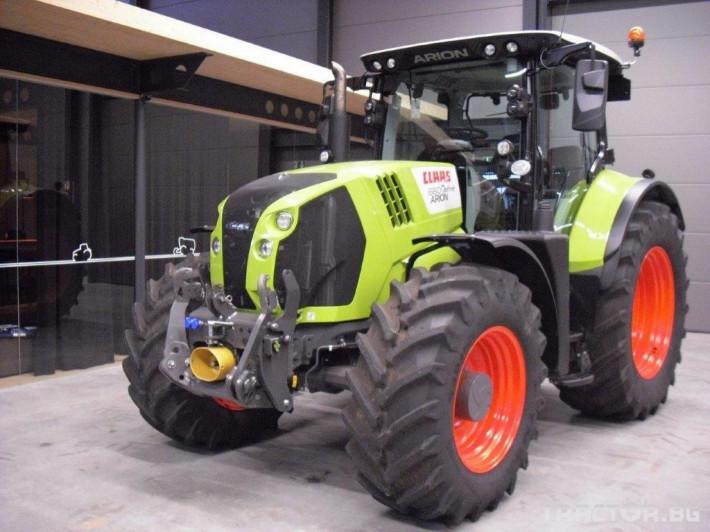 Трактори Claas Arion 660 Cmatic Cebis 2018❗❗❗ 1 - Трактор БГ