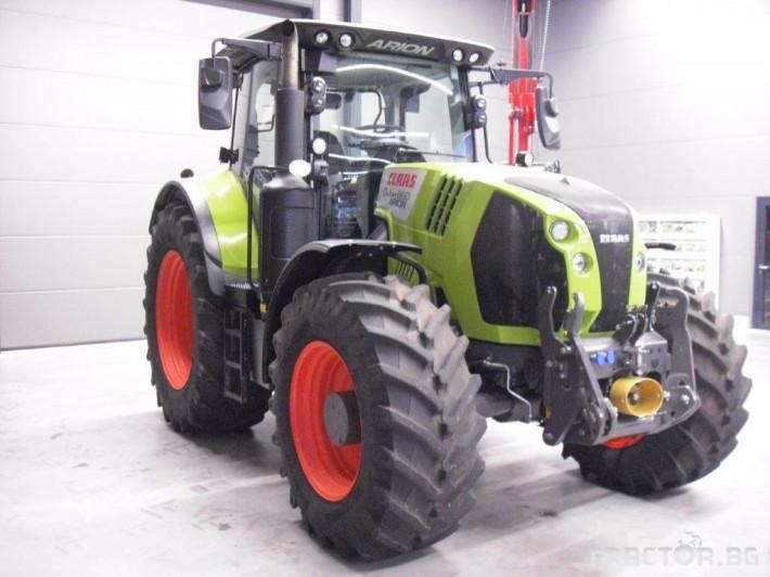 Трактори Claas Arion 660 Cmatic Cebis 2018❗❗❗ 4 - Трактор БГ