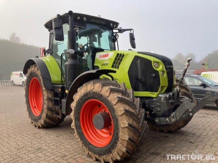 Трактори Claas Arion 660 Cmatic Cebis❗❗❗2020 2 - Трактор БГ