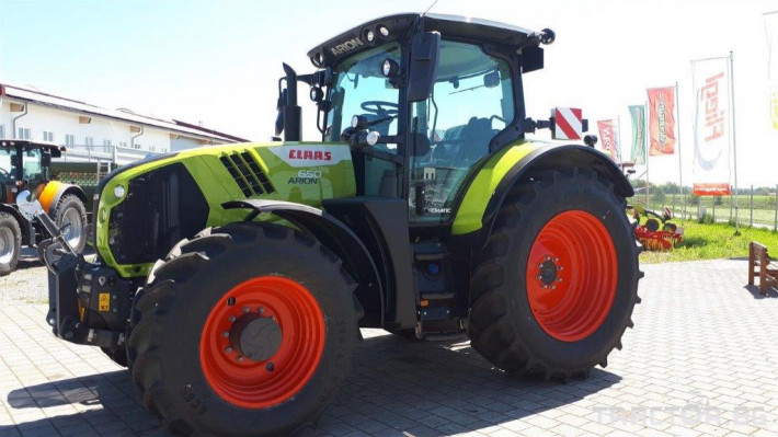 Трактори Claas Arion 650 Cmatic Cebis 2020❗❗❗ 1 - Трактор БГ