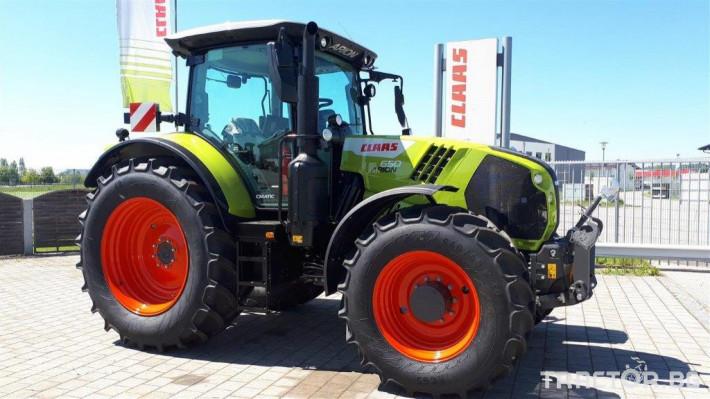 Трактори Claas Arion 650 Cmatic Cebis 2020❗❗❗ 13 - Трактор БГ